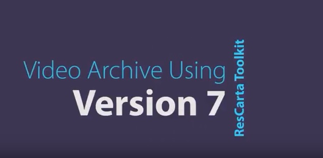 Version 7::Video archives